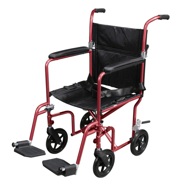 Transport Chairs and Wheelchairs – Drive Fly Lite Transport Chair